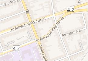 Veleslavínova v obci Brno - mapa ulice