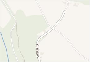 Chrastě v obci Buchlovice - mapa ulice