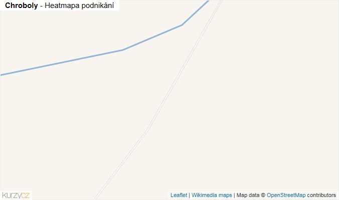 Mapa Chroboly - Firmy v obci.