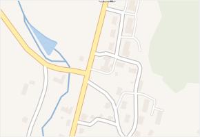 Dětřichov nad Bystřicí v obci Dětřichov nad Bystřicí - mapa části obce