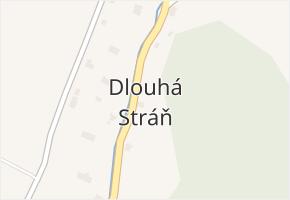 Dlouhá Stráň v obci Dlouhá Stráň - mapa části obce