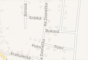 Ke Zvonečku v obci Doksy - mapa ulice