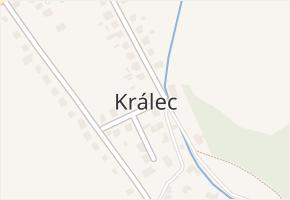 Králec v obci Dolní Studénky - mapa části obce