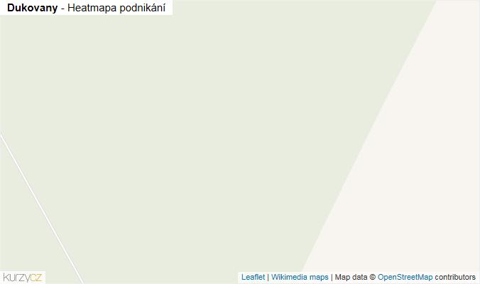 Mapa Dukovany - Firmy v obci.