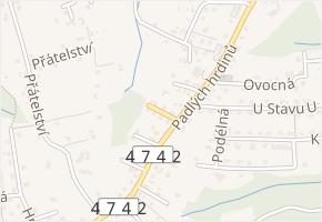Olšová v obci Havířov - mapa ulice