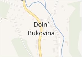 Dolní Bukovina v obci Horní Bukovina - mapa části obce
