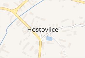 Hostovlice v obci Hostovlice - mapa části obce