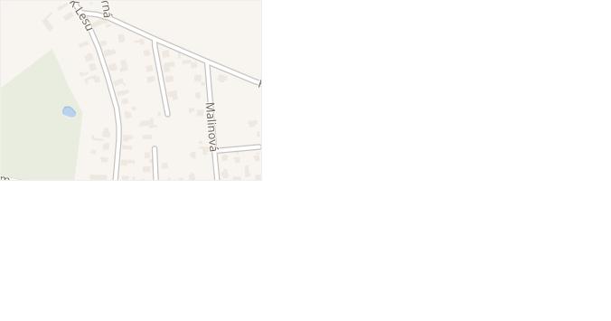 K Borku v obci Hradec Králové - mapa ulice