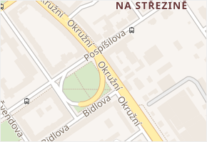 Pospíšilova v obci Hradec Králové - mapa ulice