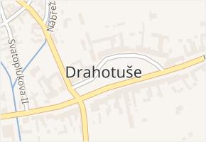 Hranice IV-Drahotuše v obci Hranice - mapa části obce
