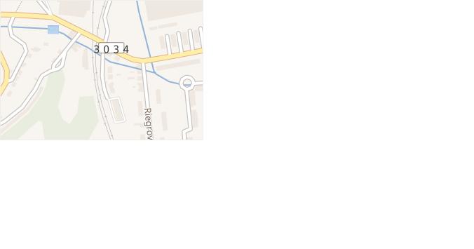 Štefanikova v obci Hronov - mapa ulice