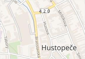 Stodolní v obci Hustopeče - mapa ulice