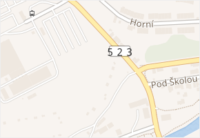 Humpolecká v obci Jihlava - mapa ulice