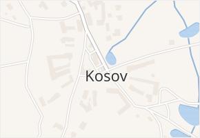 Kosov v obci Jihlava - mapa části obce