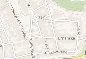 Masarykovo náměstí v obci Jihlava - mapa ulice
