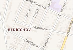 Široká v obci Jihlava - mapa ulice