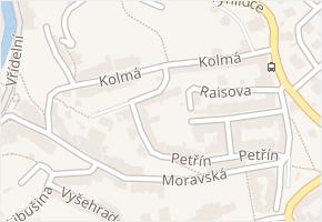 Kolmá v obci Karlovy Vary - mapa ulice