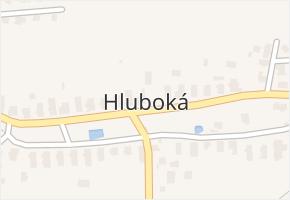Hluboká v obci Kdyně - mapa části obce