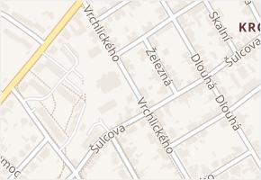 Dlouhá v obci Kladno - mapa ulice