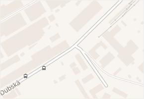 Dubská v obci Kladno - mapa ulice
