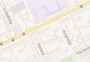 Vodárenská v obci Kladno - mapa ulice