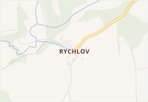 Rychlov v obci Kněžice - mapa části obce