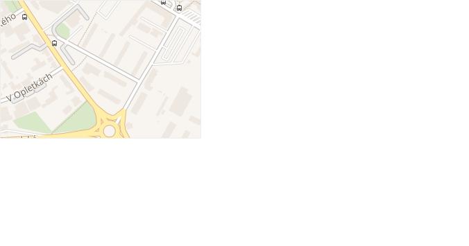 Sladkovského v obci Kolín - mapa ulice