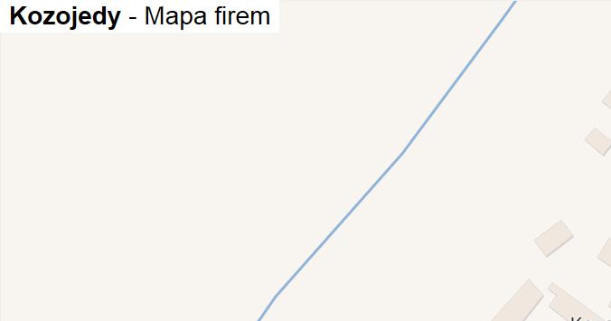 Kozojedy - mapa firem