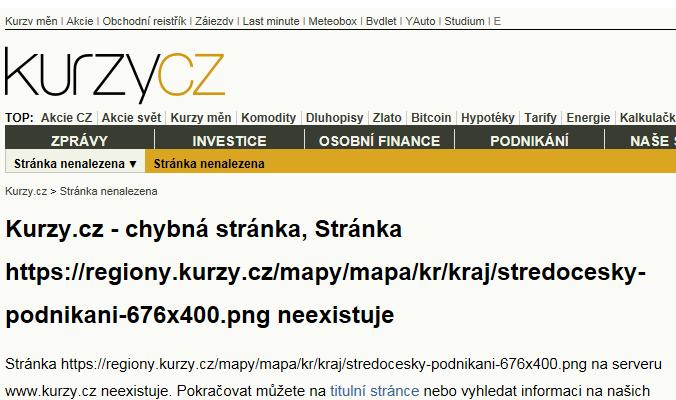 Mapa Středočeský - Firmy v kraji.