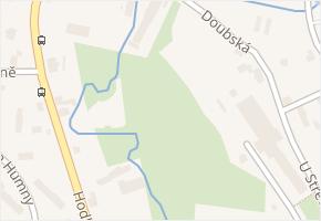 Hodkovická v obci Liberec - mapa ulice
