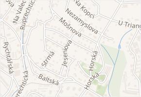 Kropáčkova v obci Liberec - mapa ulice