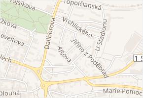 Chelčického v obci Litoměřice - mapa ulice