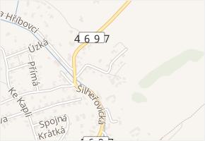 Stodolní v obci Markvartovice - mapa ulice