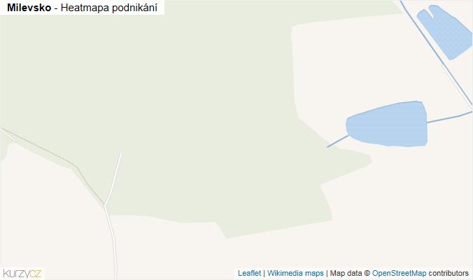 Mapa Milevsko - Firmy v obci.