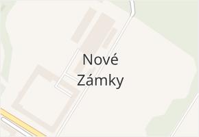 Nové Zámky v obci Mladeč - mapa části obce