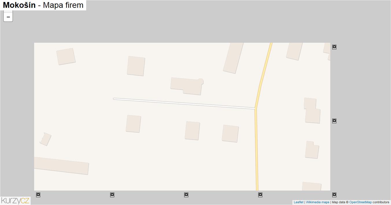 Mokošín - mapa firem