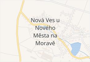 K Nové vsi v obci Nové Město na Moravě - mapa ulice