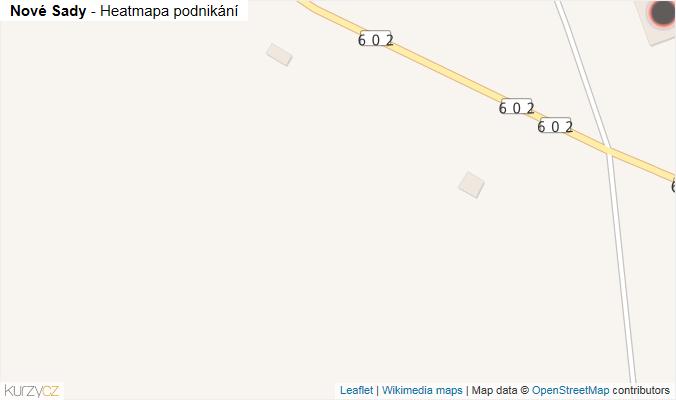 Mapa Nové Sady - Firmy v obci.