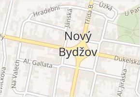 Masarykovo náměstí v obci Nový Bydžov - mapa ulice