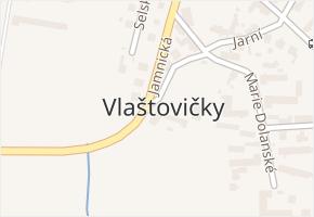 Vlaštovičky v obci Opava - mapa části obce