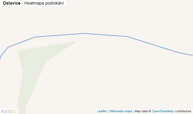 Mapa Oslavice - Firmy v obci.