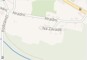 Hradní v obci Ostrava - mapa ulice