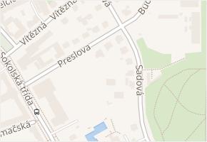 Sadová v obci Ostrava - mapa ulice