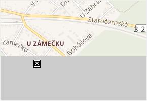 Boháčova v obci Pardubice - mapa ulice