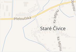 Na Návsi v obci Pardubice - mapa ulice