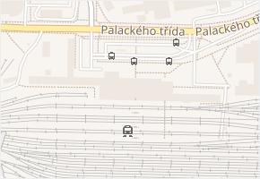 náměstí Jana Pernera v obci Pardubice - mapa ulice