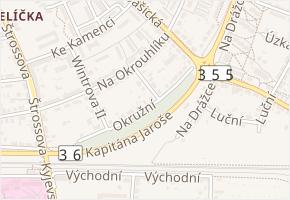 Schulhoffova v obci Pardubice - mapa ulice