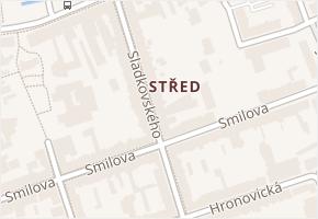 Sladkovského v obci Pardubice - mapa ulice