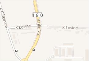 Plzeň 8-Černice v obci Plzeň - mapa městské části
