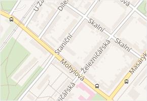 Staniční v obci Plzeň - mapa ulice